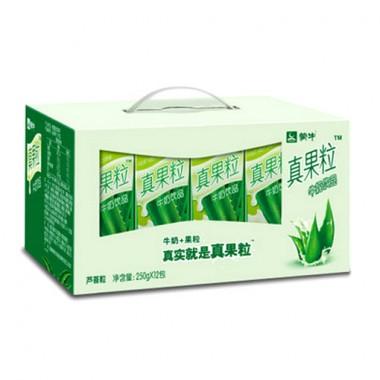 蒙牛真果粒芦荟(250g*12)(箱)