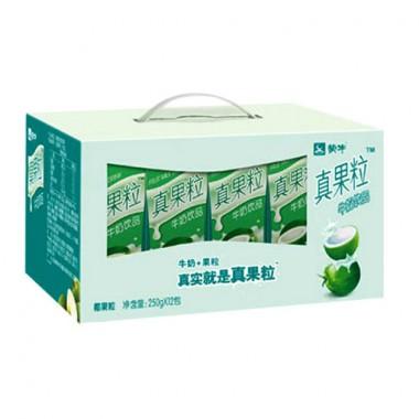 蒙牛真果粒椰果(250g*12)(箱)