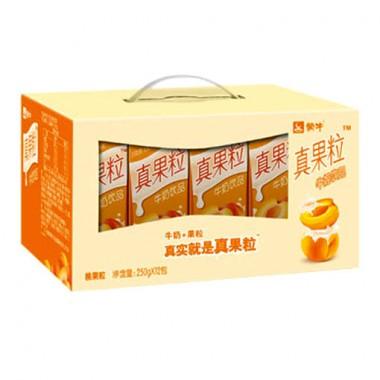 蒙牛真果粒黄桃(250g*12)(箱)