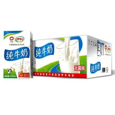 伊利纯牛奶(250ml*24)(箱)